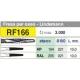 Edenta Acciaio Rf166 021 RA 3pz