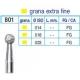 Frese Diamantate Ref.801 ISO 014 FG Grana Extra Fine 5pz