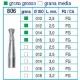 Frese Diamantate Ref.806 ISO 018 3,2mm FG Grana Media 5pz