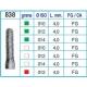 Frese Diamantate Ref.838 ISO 010 4,0mm FG Grana Grossa 5pz