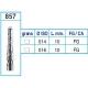 Frese Diamantate Ref.857 ISO 016 10mm FG Grana Media 5pz