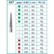 Frese Diamantate Ref.847 ISO 018 8,0mm FG Grana Fine 5pz