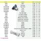 Lampade Per Riunito Fedesa Mod. Midway-Lineo-Scorpio-Vitali