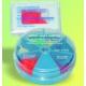 Cunei Legno Ricambio 822-50 Medio Colore Blu 100pz