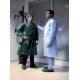 Camice Tnt Visitatore Assistente Verde Non Sterile 10pz