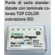 Punte Carta Top Color 28mm ISO 30 200pz