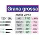 Frese Diamantate Grana Grossa 120-130u Ref.205LC 3pz
