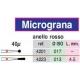 Frese Diamantate Micrograna 40u Ref.4201 1pz