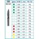 Frese Diamantate Ref.368 ISO 021 4,5mm FG Grana Fine 5pz
