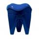 Sgabello Forma Molare Colore Blu 1pz