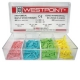 Cunei Westpoint Legno 15mm Colore Giallo 200pz