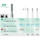 Frese Diamantate Busch Ref.838 ISO 010 FG314 6pz