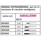 Meteor Trend Plus Amalerm Grana Extragrossa ISO 016 1pz
